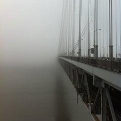 Photo taken at George Washington Bridge by Team Sixcycle R. on 1/13/2013
