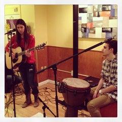 Photo taken at Cornerstone Coffeehouse by Chris M. on 2/16/2013