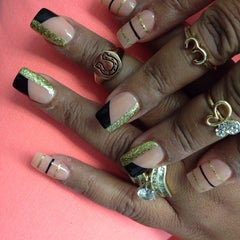 Photo taken at Patsys Nails by Darrylon E. on 1/18/2014
