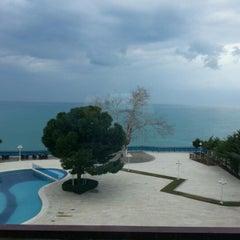 Photo taken at Antalya Hotel by Doğan B. on 2/6/2013