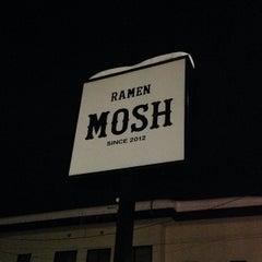 Photo taken at RAMEN MOSH by bucci on 1/7/2014