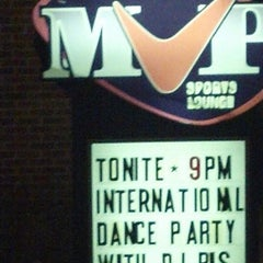 Photo taken at Pat's Pizza Family Restaurant/MVP Sports Lounge by DJ BIS on 4/17/2014