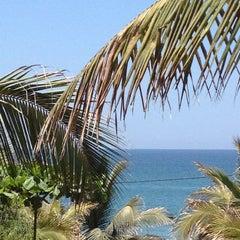 Photo taken at Playa Vichayito by Fátima M. on 2/15/2013