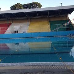 Photo taken at Abellana Swimming Pool by Melvin D. on 4/27/2015
