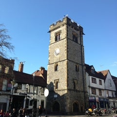 Photo taken at St Albans Clock Tower by Marat A. on 4/26/2013