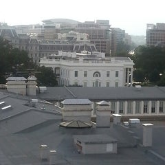 Photo taken at W Washington DC, Rooftop by Janelle H. on 7/13/2013