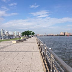 Photo taken at Pier 45 - Hudson River Park by Mónica C. on 6/26/2013