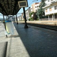 Photo taken at Stazione Asti by Enrico B. on 9/15/2012