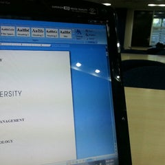 Photo taken at Tan Sri Dr. Abdullah Sanusi Digital Libray, Open University Malaysia (OUM) by Akuma on 7/6/2013