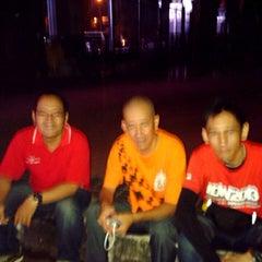 Photo taken at Patung Panahan Senayan by ombule h. on 6/6/2014