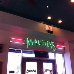 Photo taken at McAlister's Deli by Kathy L. on 3/8/2013