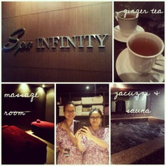 Photo taken at Spa Infinity by Hyda R. on 7/2/2013