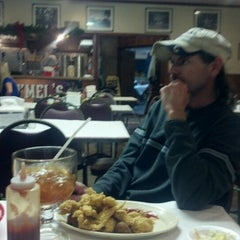 Photo taken at Hymel's Seafood Restaurant by Amy O. on 12/29/2012