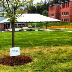Photo taken at Cebula Hall: Saint Martin's University by Austin B. on 4/20/2013