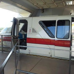 Photo taken at Monorail Red by Alicia S. on 3/19/2013