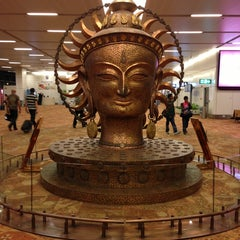 Photo taken at Indira Gandhi International Airport (DEL) by Lakshman P. on 3/4/2013