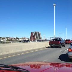 Photo taken at Casco Bay Bridge by Michael G. on 10/13/2012