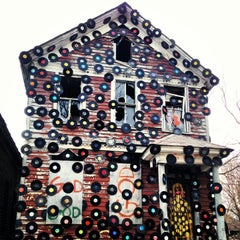 Photo taken at The Heidelberg Project by Margo on 4/9/2013