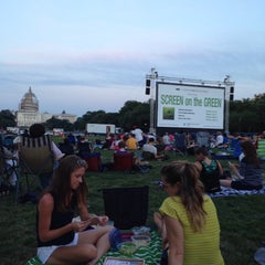 Photo taken at Screen on the Green by Robert V. on 8/4/2015