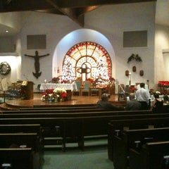 Photo taken at Blessed Sacrament Church by Lisa L. on 1/6/2013