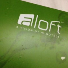 Photo taken at Aloft Winchester by Chris R. on 1/25/2013