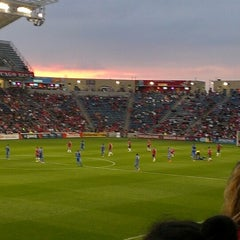 Photo taken at Toyota Park by Angelica A. on 7/4/2013