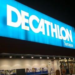 Photo taken at Decathlon by Minino G. on 1/18/2013