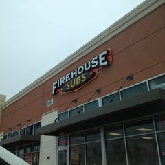 Photo taken at Firehouse Subs by Matthew B. on 1/1/2013