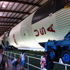 Photo taken at Space Center Houston by Matt on 8/10/2013