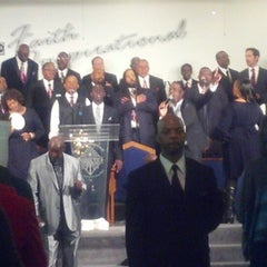 Photo taken at Faith Inspirational Missionary Baptist CHurch by Lucretia on 1/27/2013
