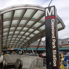 Photo taken at Cleveland Park Metro Station by Harjit on 4/23/2013