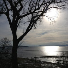 Photo taken at Battery Park by Harjit on 2/16/2013