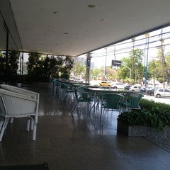 Photo taken at Hotel Beira Mar by Marco Antonio B. on 1/11/2013