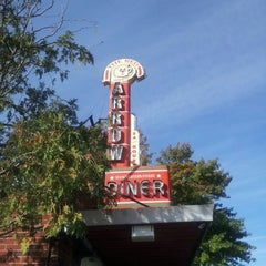 Photo taken at Red Arrow Diner by Ken G. on 10/17/2012