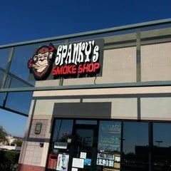 Photo taken at Spankys Smoke Shop by Ashton on 12/17/2012