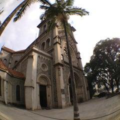 Photo taken at Paróquia Nossa Senhora da Consolação by Douglas N. on 4/23/2013