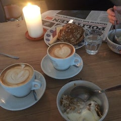 Photo taken at Kaffeslabberas'en by Rasmus F. on 9/18/2014