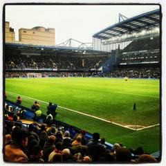 Photo taken at Stamford Bridge by SALMAN on 1/20/2013