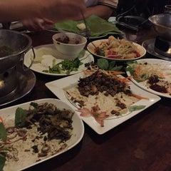 Photo taken at ครกไม้ไทยลาว by MHOGmhog .. on 6/28/2015