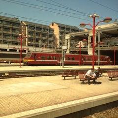 Photo taken at Gare de Namur by Chris G. on 6/7/2013