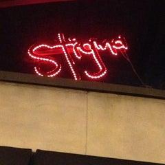 Photo taken at Stigma Tattoo Bar by Destin D. on 2/28/2014