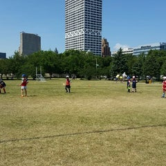 Photo taken at Milwaukee Hurling Field by Christianne G. on 8/16/2014