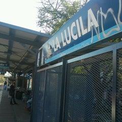 Photo taken at Estación La Lucila [Línea Mitre] by Nico A. on 6/11/2013