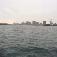 Photo taken at Boston Harbor Water Taxi by Song Y. on 12/10/2013