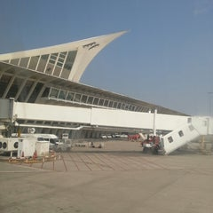 Photo taken at Aeropuerto de Bilbao (BIO) by Kristoffer M. on 7/15/2013