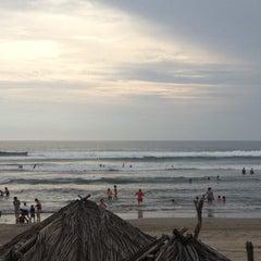 Photo taken at Playa Bonfil by Mafer R. on 11/3/2012