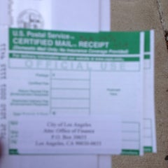 Photo taken at U.S. Post Office by Terry on 10/23/2012