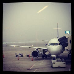 Photo taken at Portland International Jetport (PWM) by Erica W. on 4/19/2013