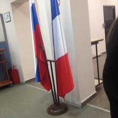 Photo taken at Визовый центр Франции / France Visa Application Center by None_d on 11/22/2012