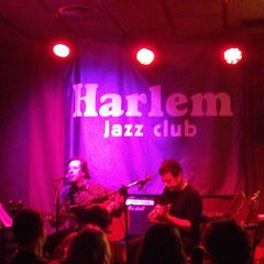 Photo taken at Harlem Jazz Club by Giusy on 2/1/2013